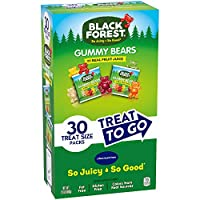 Black Forest Gummy Bear Treat To Go,30 片(4 包)