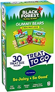 Black Forest Gummy Bear Treat To Go,30 片(4 包)