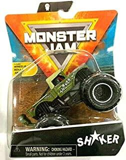 MonsterJam 摇摇杆(1:64 比例)带轮杆 - 2021 系列 16