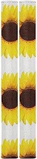 黄色向日葵手柄盖适用于冰箱烤箱 可清洗厨房电器 冰箱烤箱 防止指纹污渍