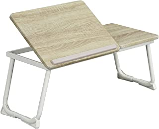 膝上桌笔记本电脑桌,适用于床,笔记本电脑床桌可折叠膝上桌支架便携式笔记本电脑桌可调节笔记本电脑桌,适用于床上