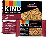 KIND Healthy Grains Bars, Cinnamon Oat, Non GMO, Gluten Free, 1.2 oz, 40 Count