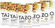 TAZO 花草茶茶包 柑橘味 野生甜橙 不含咖啡因 20個茶包,每包6個