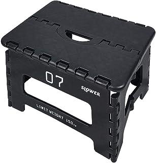 SLOWER(SLOWER) 折叠式踏板 带挂钩 黑色 22×32×25cm SLW 131