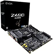 EVGA Z490 DARK K|NGP|N Edition, 131-CL-E499-KP, LGA 1200, Intel Z490, SATA 6Gb/s, 2.5Gbps LAN, WiFi/BT, USB 3.