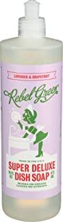 Rebel Green - 超级豪华碟皂薰衣草 & 葡萄柚 - 16 fl. 盎司