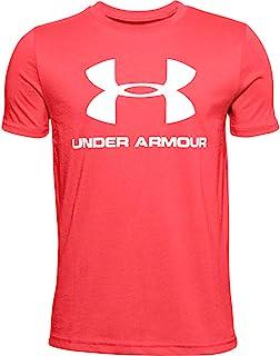 Under Armour 男童 运动风格标志短袖