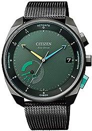 [Citizen 西铁城] 腕表 光动能 光发电智能手表 Eco-Drive Riiiver BZ7005-74X 男士 黑色