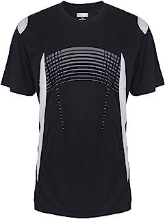 男式 Henley T 恤速干短袖运动性能上衣
