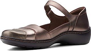 Clarks 女士 Cora Abby Mary Jane 平底鞋