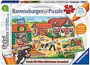 Ravensburger 睿思 tiptoi 00066 拼图 适合小探险家:农场 适合 3 岁以上儿童