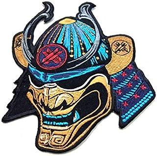 Ronin BJJ Emperor Samurai 补丁 - 优质 Jiu Jitsu Gi 和服贴布 - 密集美丽的彩色 - 15.24 x 12.7cm 刺绣补丁 - 夹克和 T 恤的理想选择