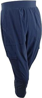 Ideology 女式加大编织弹力工装裤