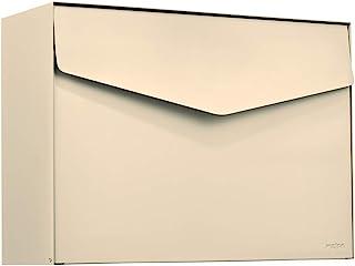MEFA 信箱 Letter 111(带*锁的邮箱,信件设计,尺寸 312x430x178 毫米)象牙色,111220M