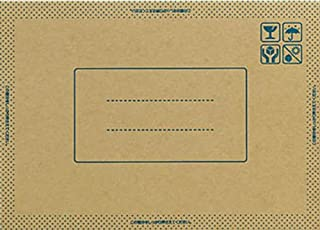Kokuyo 国誉 压着式包装贴 Nami-packpack CD・视频尺寸用 10片装 HOSHI-NP1