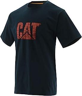 Caterpillar 男式猫咪定制标志轻质夏季 T 恤