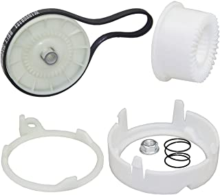W10721967 W10006384 洗衣机滑轮离合器套件和洗衣机传动带 适用于 Whirlpool,Kenmore AP5951296 W10006356 W10315818