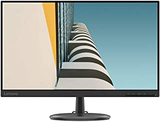 Lenovo 联想 D24-20 23.8 英寸 全高清 5 毫秒 VGA + HDMI 3 面无边框黑色