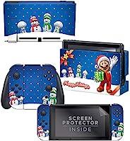 Controller Gear Nintendo Switch Skin & 屏幕保护膜套装 Sno