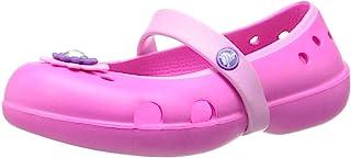 crocs Girls' Keeley Petal Charm Flat PS