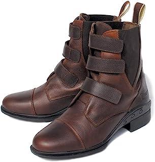 Rhinegold Elite Montana 皮革魔术贴桨靴