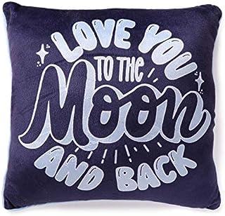 "Heritage Kids ""Love You to The Moon and Back 软貂方形装饰抱枕,40.64 厘米 x 40.64 厘米"