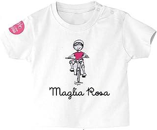 Giro Italia 中性款 婴儿 Maglia12-18 T 恤,白色,12-18 个月