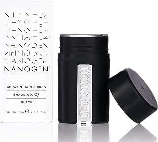 Nanogen Hair Thickening Keratin Fibres Black
