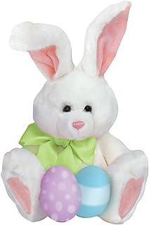 Paper House Productions M-0489E 模切冰箱磁铁,长毛绒复活节兔子(6 件装)