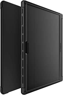 OtterBox 对称对开系列保护套,适用于 Microsoft Surface Pro 7 - 零售包装 - 星空之夜(透明/黑色/黑色 PU/深灰色仿麂皮)