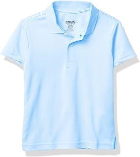 Chaps 男孩学校表演短袖 Polo 衫