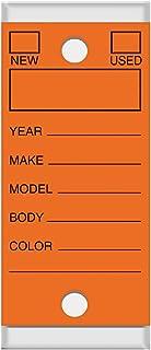 Genuine Versa Tags 钥匙牌 橙色
