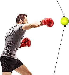 Boxing Reflex 球带登山扣和天花板安装完整套装,非常适合反应、敏捷、击球速度、战斗技巧