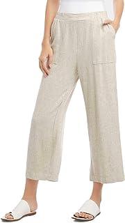 Karen Kane 女士套穿亚麻九分裤
