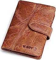 JEEP KAVIS BONWE 男士錢包真皮拉鏈復古對折卡包