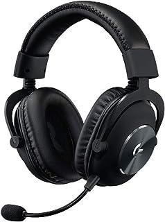 Logitech 罗技 G PRO X 游戏耳机套装(第2代) 带Blue VOICE技术,DTS耳机:X 7.1,PRO-G 50毫米扬声器,7.1环绕声,适合电竞游戏,适用于PC/Mac/Xbox One/PS4/Nintendo Swit...