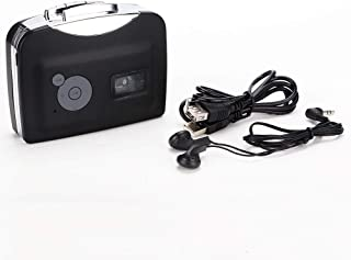Socobeta 卡式至 MP3 转换器 EZCAP230 立体声 USB 盒式数字磁带 MP3 带耳机