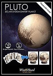 Pluto - 矮星球,纸艺模型,3D 组装拼图,家居装饰,*生日礼物