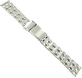 Speidel 18mm 不锈钢扣环表带 6.3 英寸长