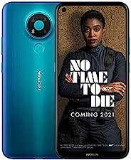 Nokia 諾基亞 3.4 6.39 英寸 Android UK SIM-Free 智能手機,帶 3GB RAM 和 32GB 存儲(雙 SIM) - Fjord