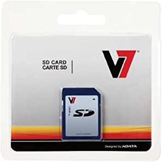 V7 4GB SDHC Class 6 Flash Memory Card (VASDH4GCL6R-1N)