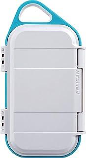 Pelican Go G40 保护套 - 防水盒(冲浪蓝/灰色)GOG400-0000-WHT  White/Aqua