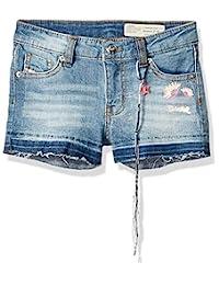Diesel 女童休闲短裤