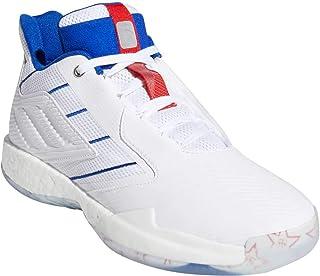 adidas 阿迪达斯 男士 TMAC Millennium 2 篮球白色/银色金属/金色金属 9.5