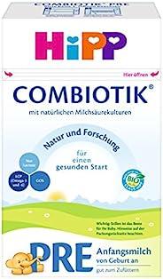 HiPP 喜宝 Bio ComBiotik Pre段(适用于初生婴儿) 婴儿奶粉,4罐装(4 x 600g)