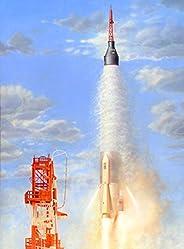 Horizon Models 1/72 比例 Mercury-Atlas 塑料模型套件