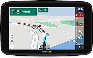 TomTom Truck GPS GO 专家,7 英寸高清屏幕,带定制卡车路线和 POIs,由于TomTom 交通而造成的交通堵塞,世界地图,现场限制警告,通过 WiFi 快速更新