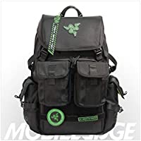"""Mobile Edge Razer Tactical 17"""" Laptop Backpack 黑色 One Size"""