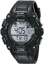 Armitron Sport 男式 408209BLK 数字手表