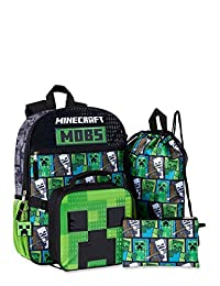 Mincraft Mojang 背包 5 件套